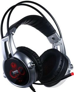 Somic VC-E95X USB Real 5.2 Surround Sound Gaming Headset Lig