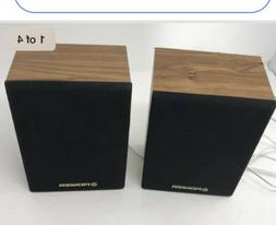 Vintage PIONEER CS-X300-Q Surround Sound Speakers - Bookshel