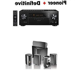 Pioneer VSX-LX103 Elite 7.2 Channel A/V Receiver + Definitiv