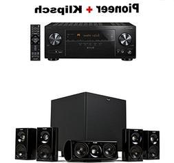 Pioneer VSX-LX103 Elite 7.2 Channel A/V Receiver + Klipsch H