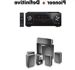 Pioneer VSX-LX303 9.2 Ch Receiver + Definitive Technology Pr