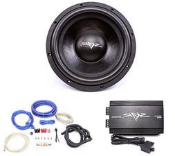 Skar Audio VVX-12v3 D2 1200 Watt Subwoofer with RP-800.1D Mo