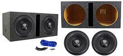 w12k6d4 v2 car audio subwoofers