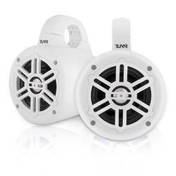 Waterproof Marine Wakeboard Tower Speakers - 4 Inch Dual Sub