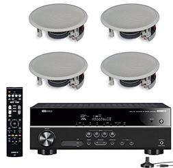 Yamaha 5.1-Channel Wireless Bluetooth 4K A/V Home Theater Re