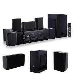 Cirocco 1000W Wireless Bluetooth Home Theater System w/Remot