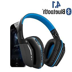 Wireless Gaming Headset, Weton V4.1 Bluetooth Overhead Headp