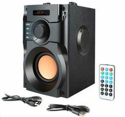 Wireless Portable Bluetooth Speaker 360° Surround Sound Sub