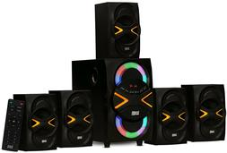 Wireless Surround Sound Speakers Home Entertainment System T
