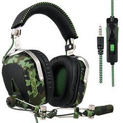 Xbox one PS4 PC Gaming Headsets , SADES SA926T Gaming Headph
