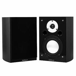 Fluance XL7SBK High Performance Bookshelf Surround Sound Spe
