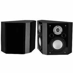 Fluance XLBPBK Wide Dispersion Bipolar Surround Sound Speake