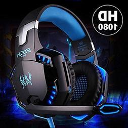 YIGEYI 3.5mm Cool Surround Stereo Gaming Headset Headband He