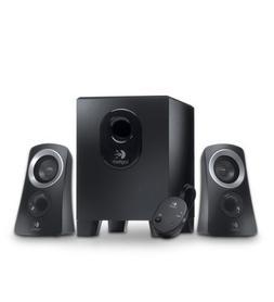 Logitech Z313 2.1 Speaker System - 25 W RMS - Black - 48 Hz